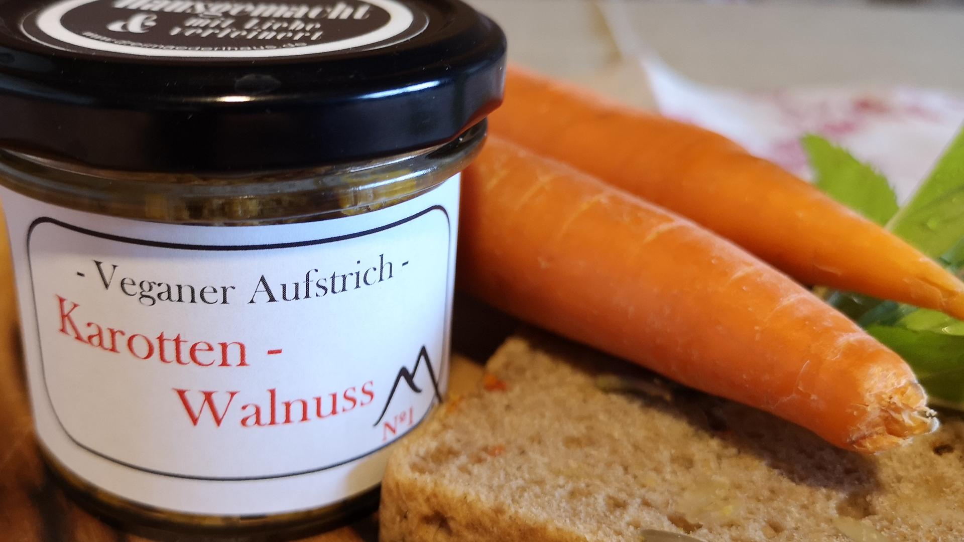 Karotten-Walnuss N°1 - 100gr