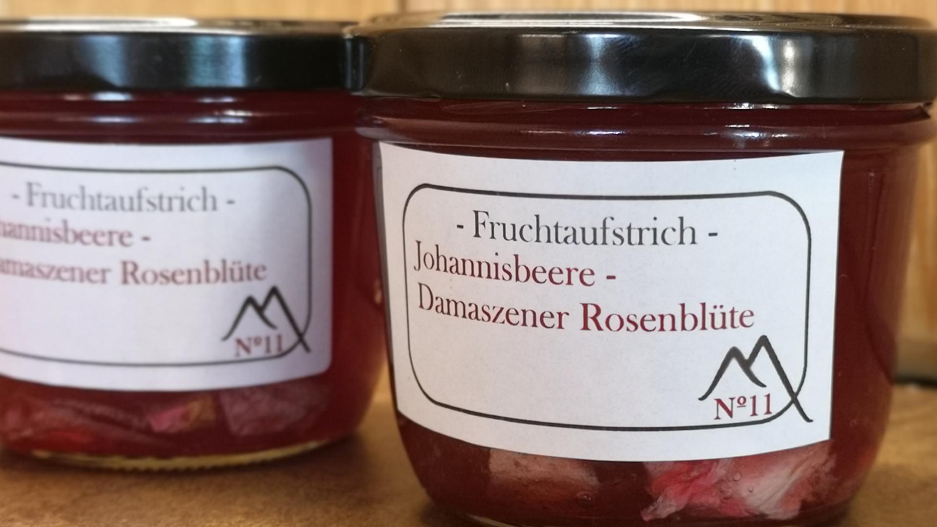 Johannisbeere - Damaszener Rosenblüte No. 11