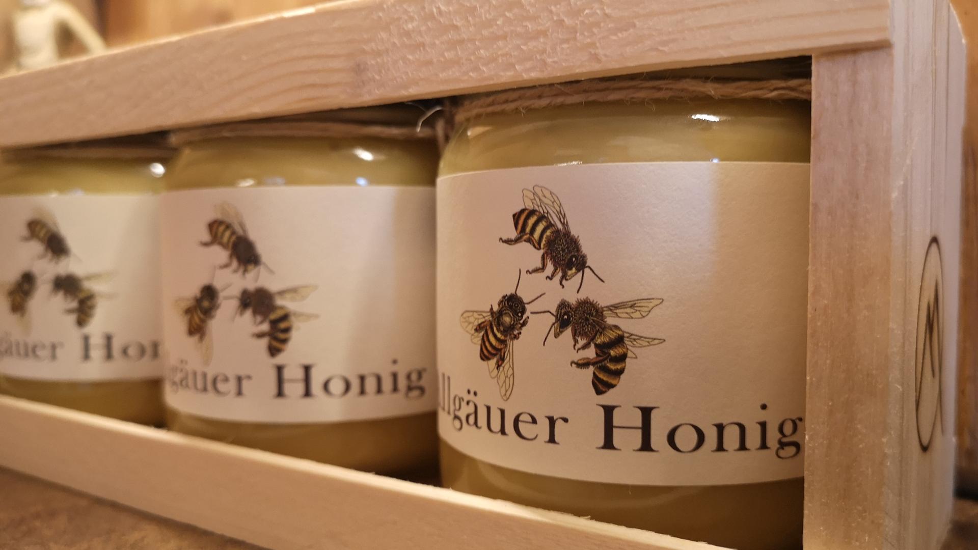 Allgäuer Honig - Geschenkbox 2 x 500gr