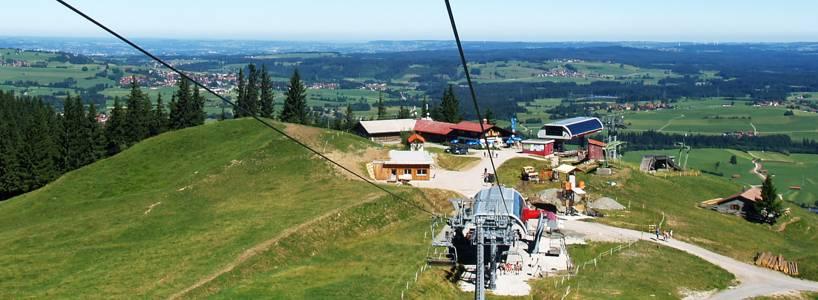 Die Alpspitze in Nesselwang