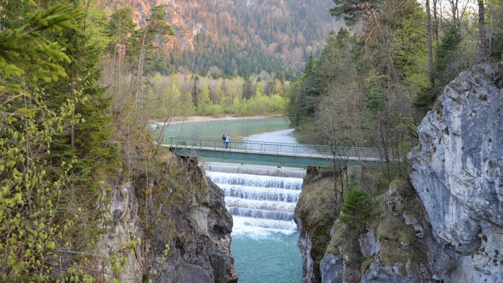 Der Lechfall in Füssen
