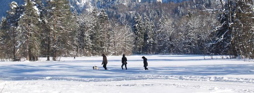 Verträumte Winterwanderung zur Marienbrücke