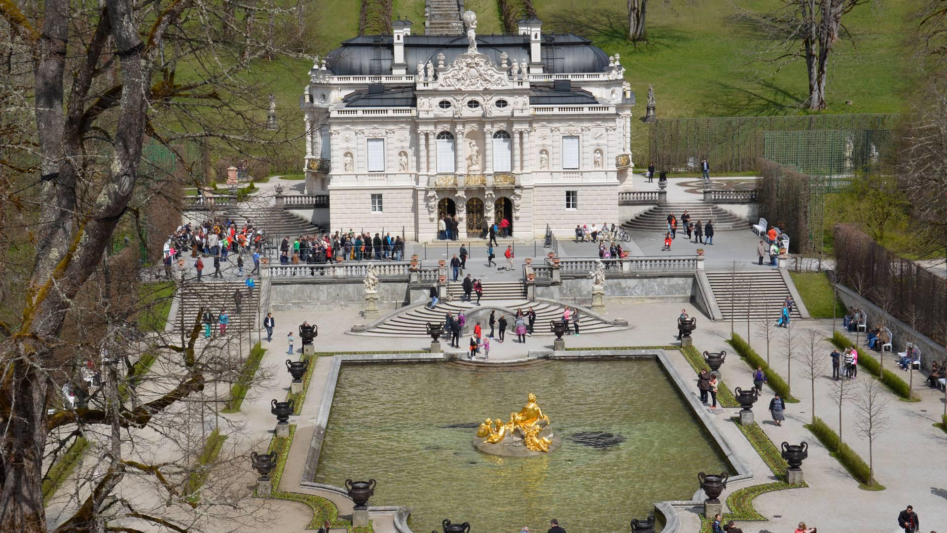 Schloss Linderhof Blog