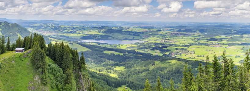 Die Alpe Stubental bei Nesselwang