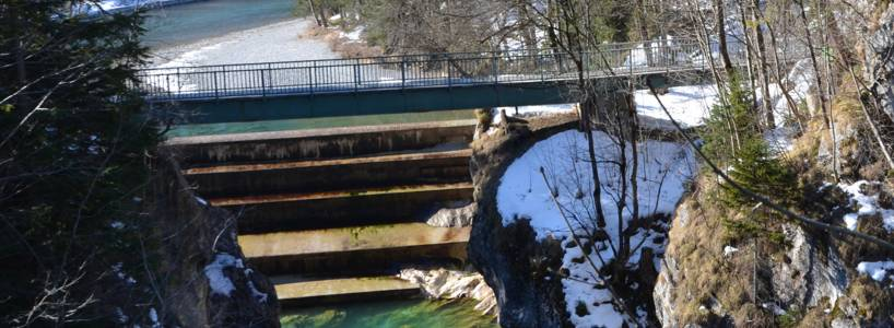 Eine gemütliche Winterwanderung: Die Lechfall-Runde