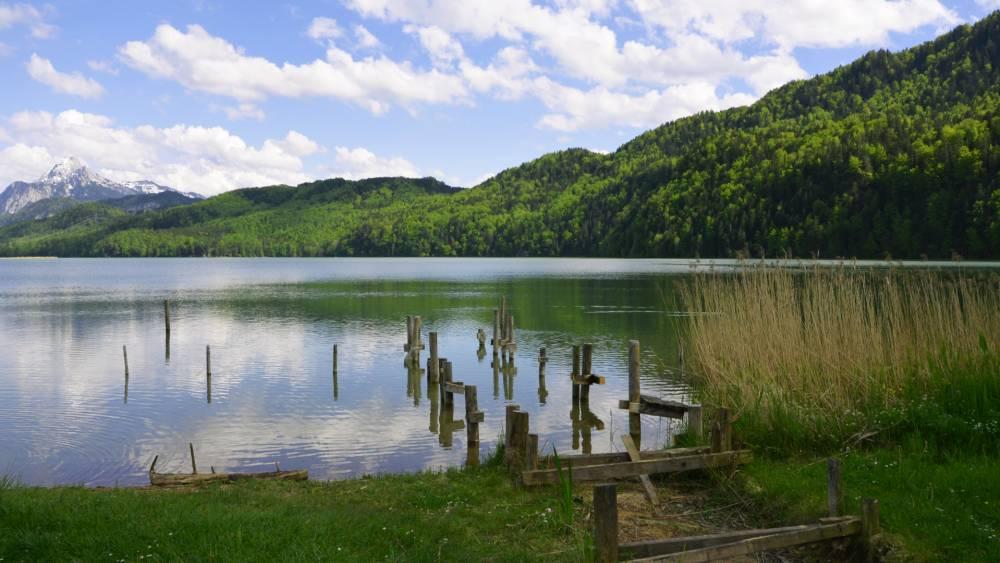 Die Seen-Radtour des Schlossparks Allgäu
